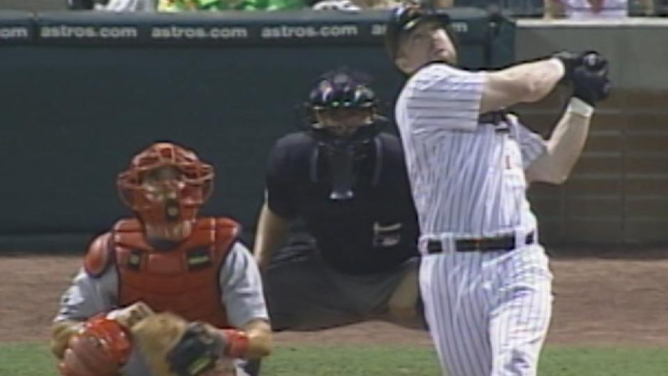 Bagwell hits for the cycle