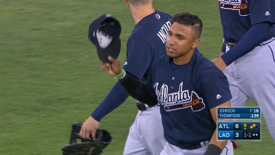 Bravos paran racha de Dodgers