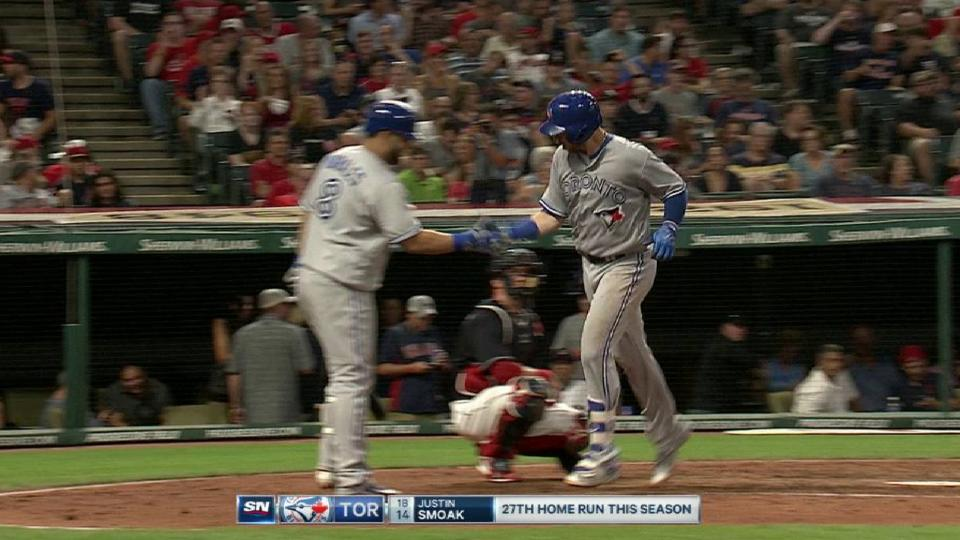 Smoak's solo home run