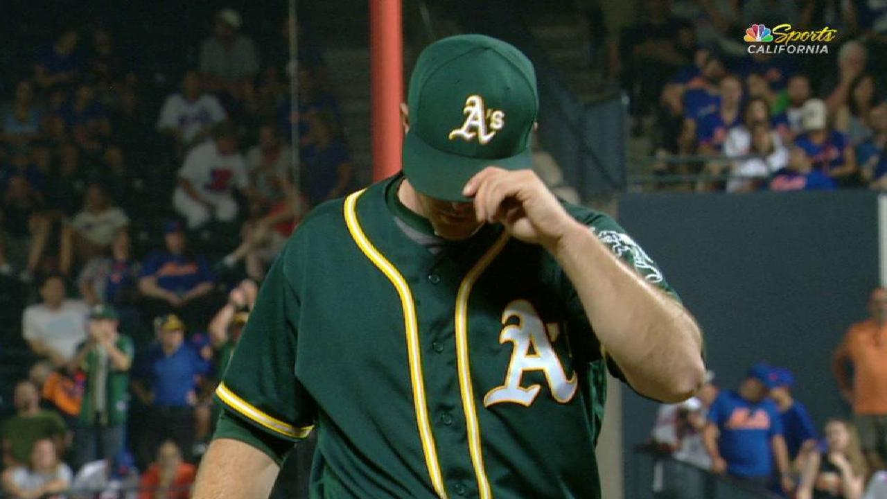 1005fae09 Athletics bullpen working out kinks