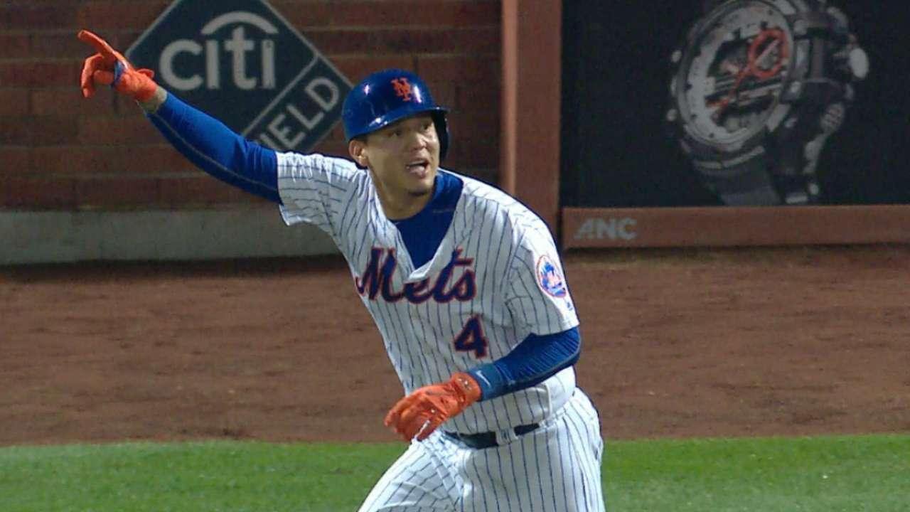 Flores corona remonte de Mets con HR de oro en la novena