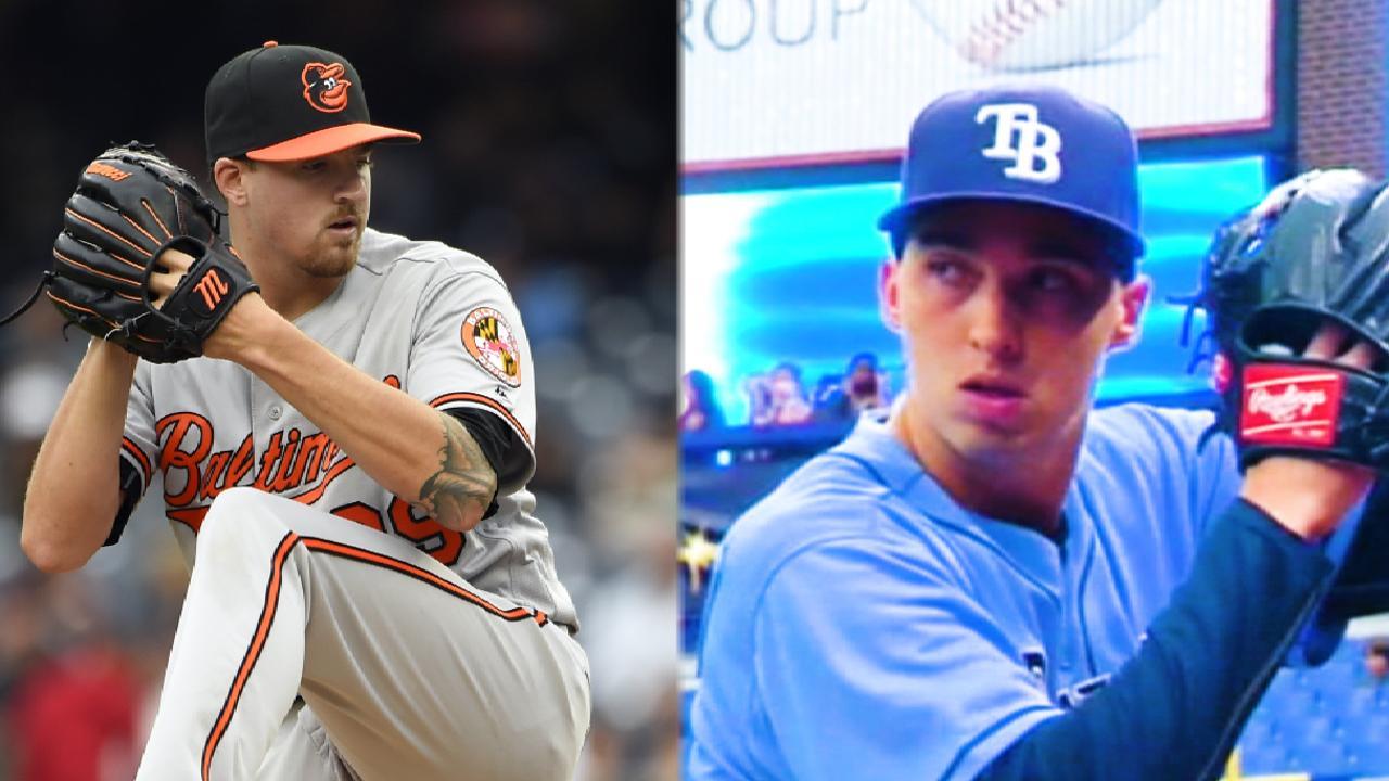 Orioles Y Rays Inician Serie En Tampa Bay Mlb Com
