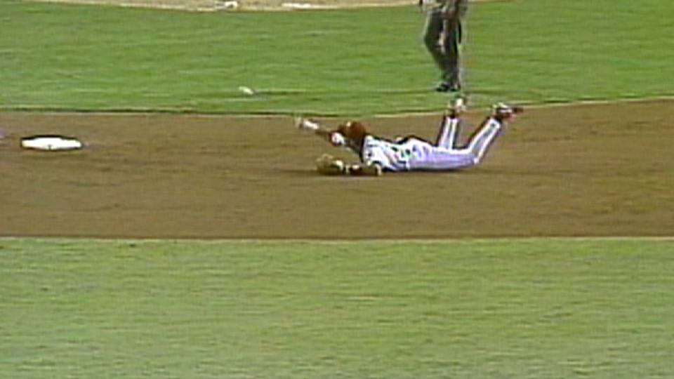 Gil's diving double play