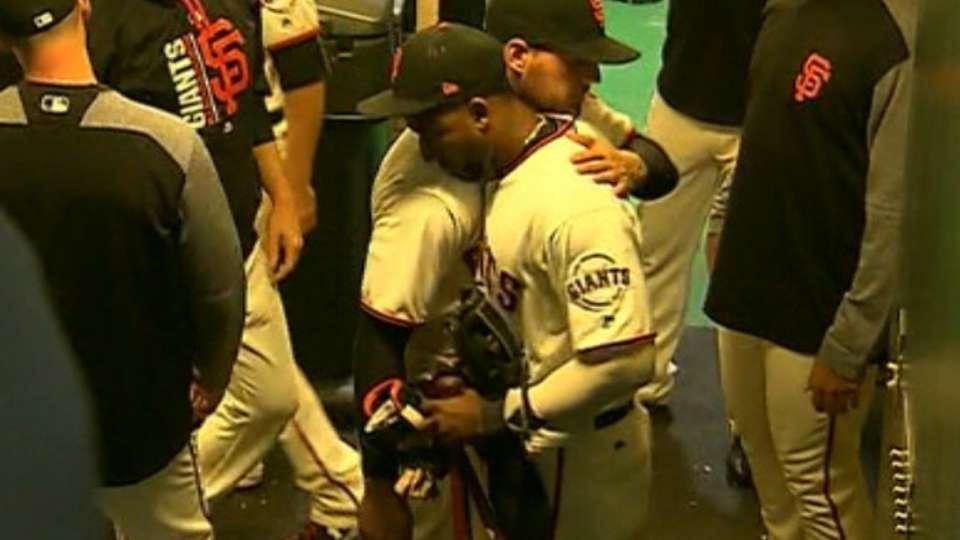 Nunez says his goodbyes