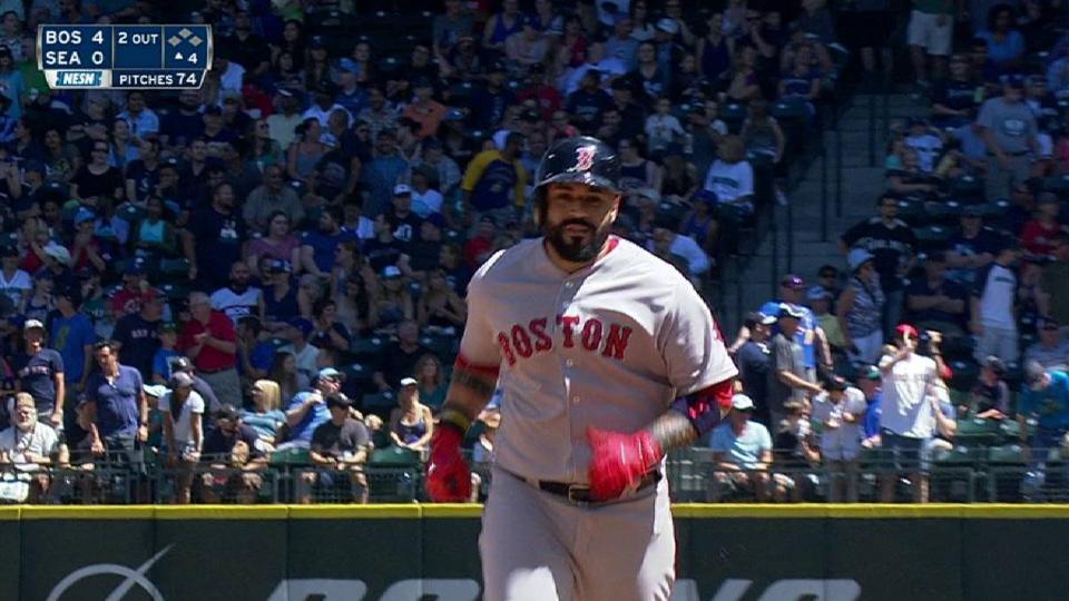 Leon's two-run homer