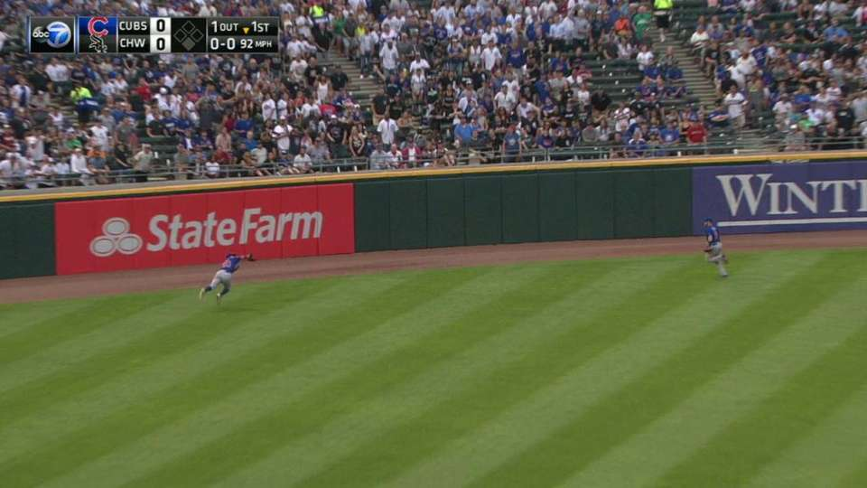 Jay's amazing diving catch