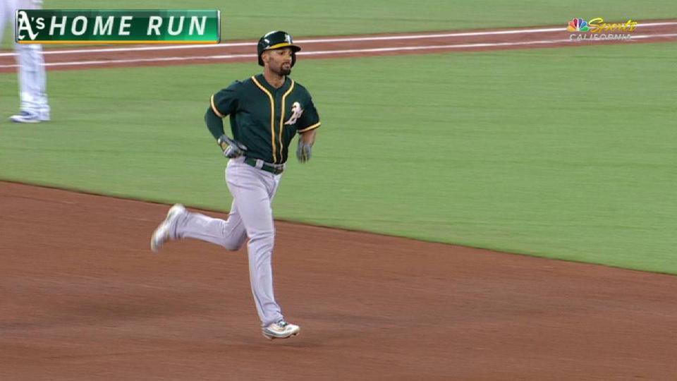 Semien's two-run jack