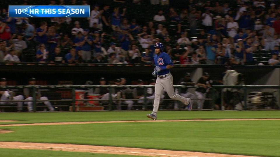 Russell's solo homer