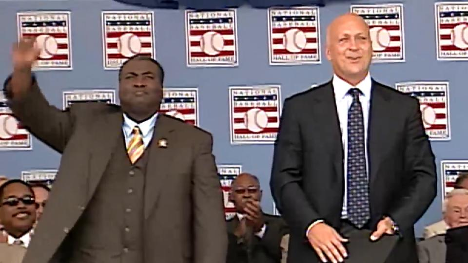 The historic 2007 HOF induction