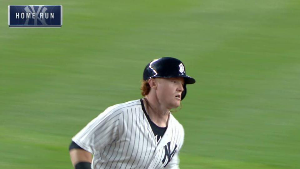 Clint Frazier's three-run smash