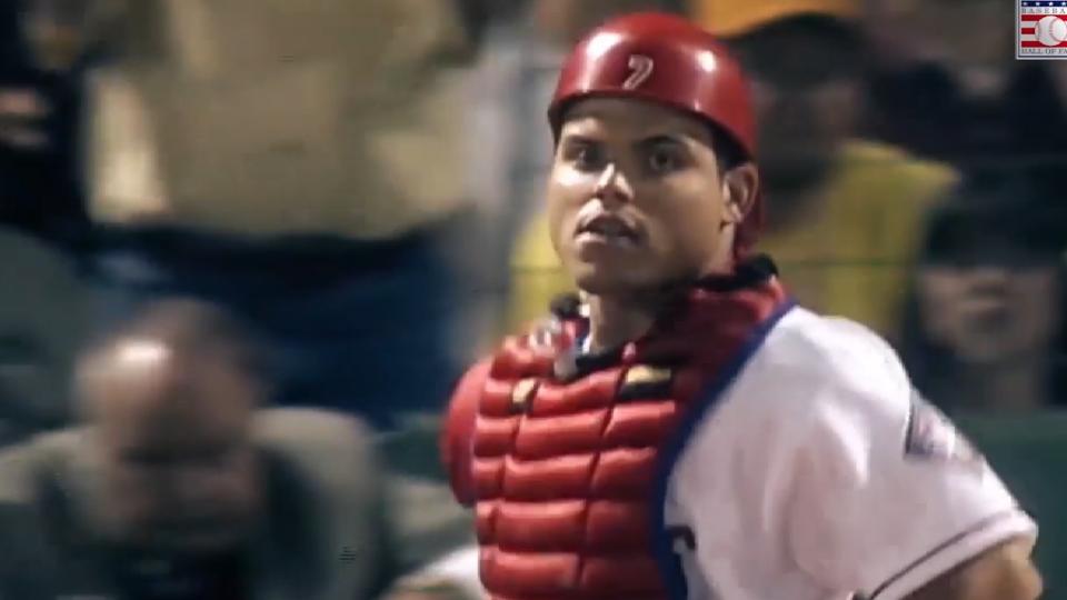 Pudge inmortal del beisbol