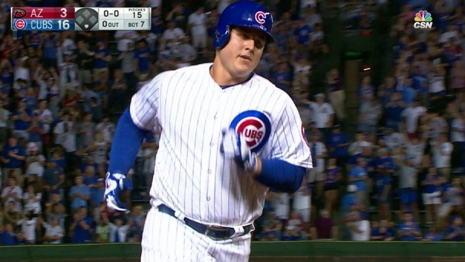 Rizzo's second dinger of game