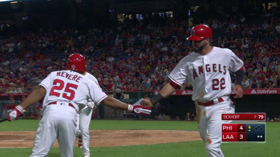 Flores pulls Halos within one