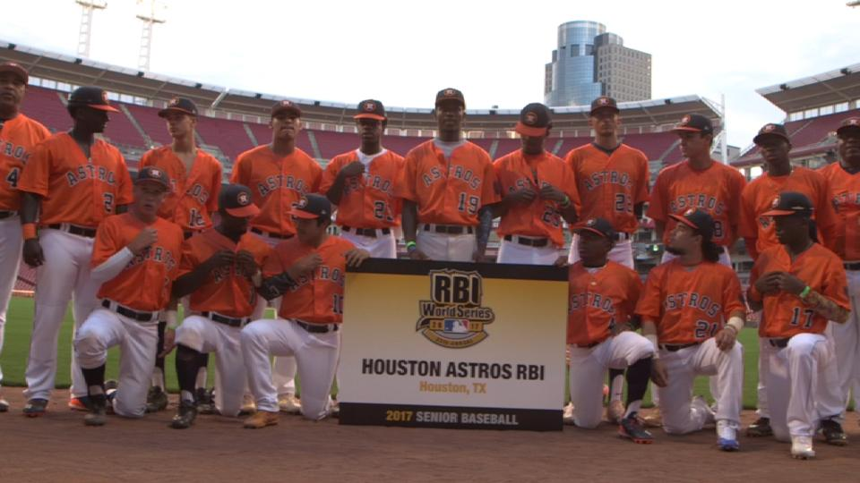 Astros RBI Junior squad in Cincy