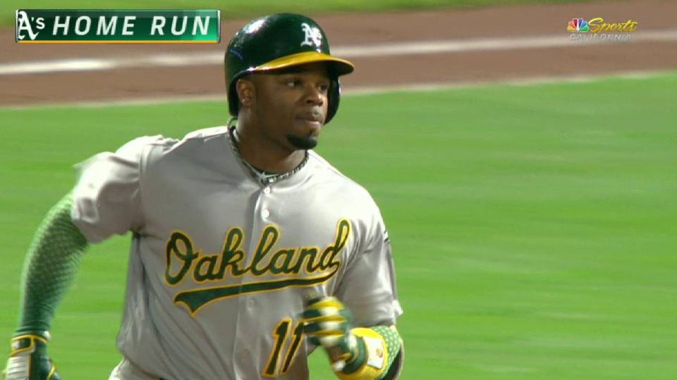 Rajai's solo home run