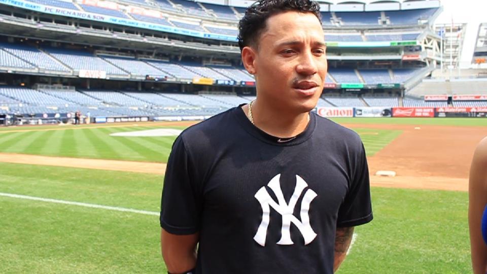 Torreyes habla con Yankees