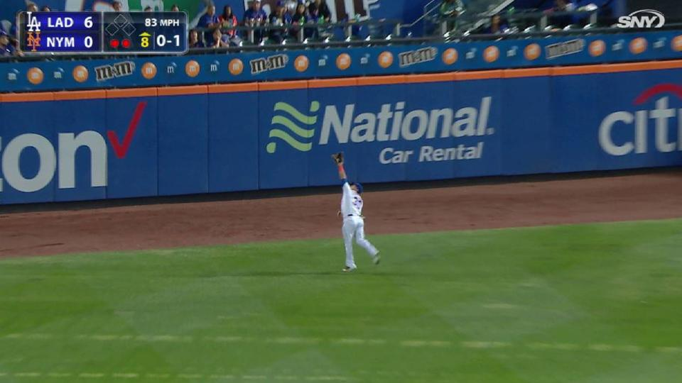 Conforto's great running grab