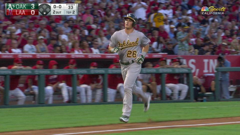Chapman's three-run home run