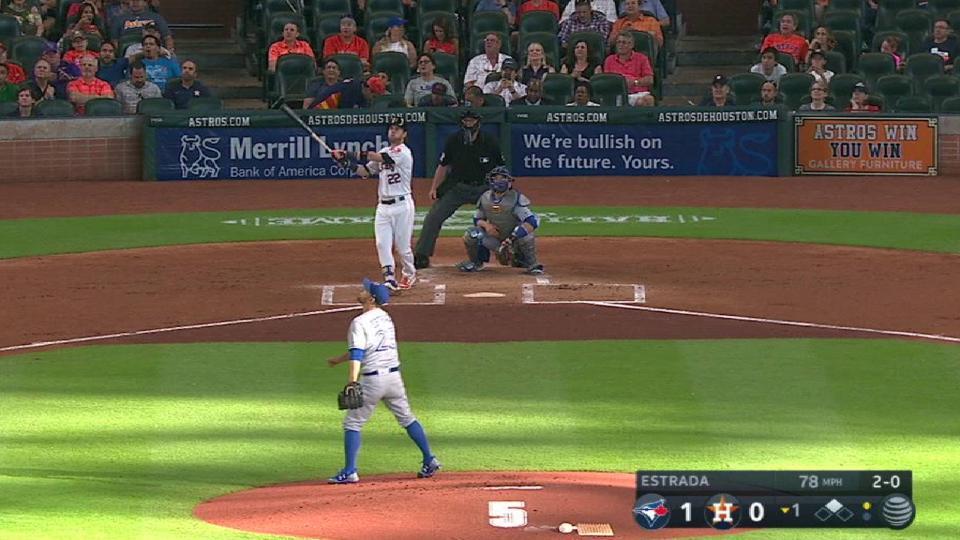 Reddick's two-run home run