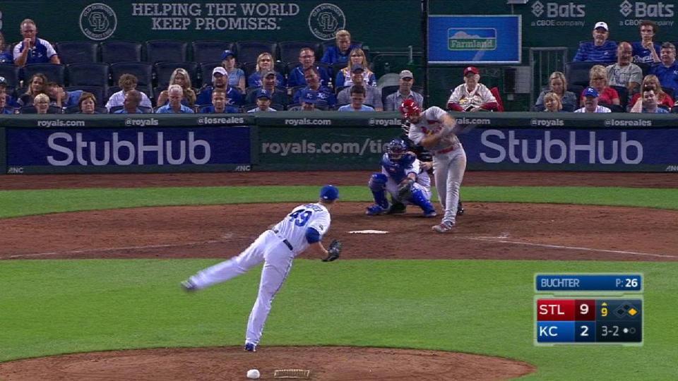 DeJong's two-run home run