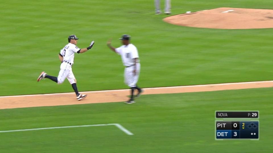 Kinsler's solo home run