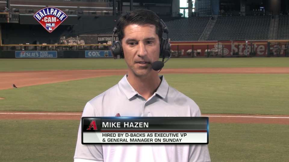 Hazen on new role with D-backs