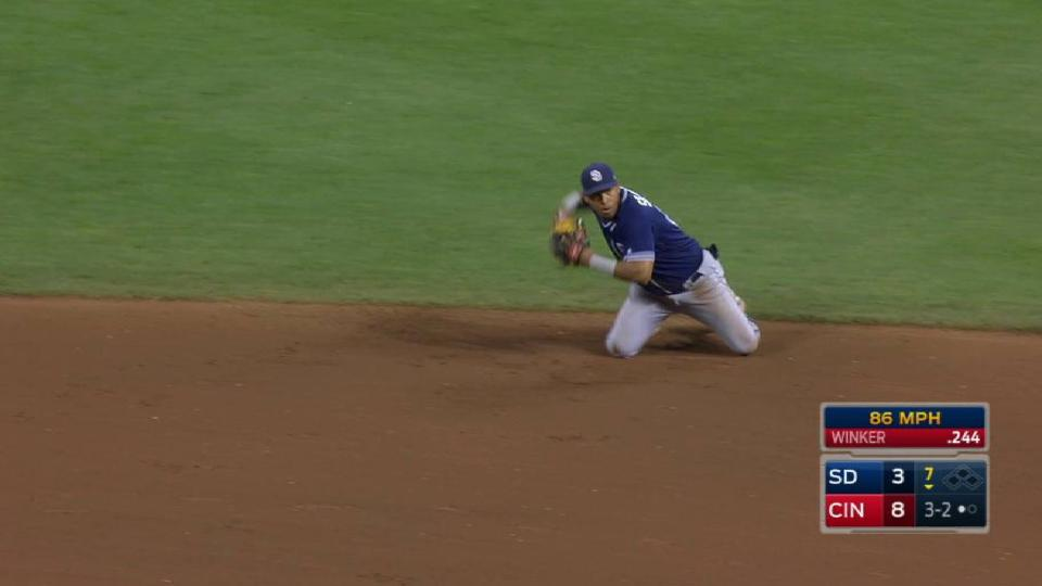 Solarte's nice diving play