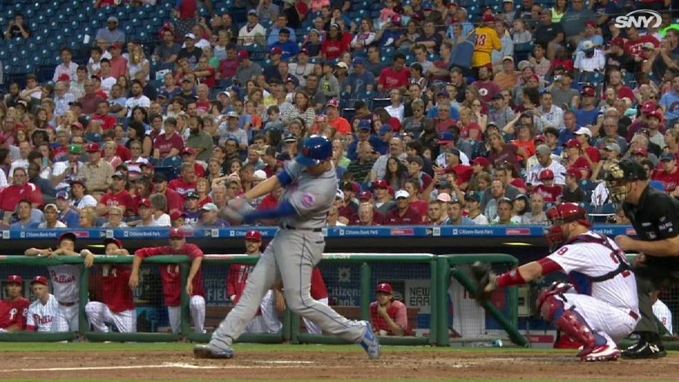 Walker's solo homer to right