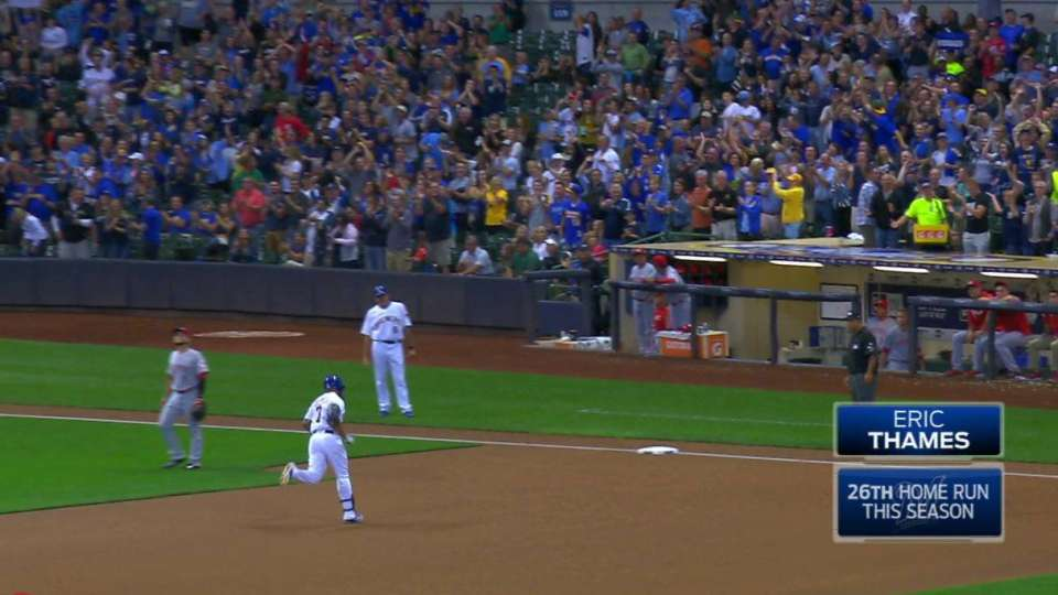 Thames' three-run home run