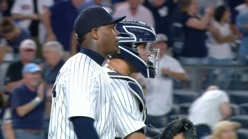 Yankees hang on for win