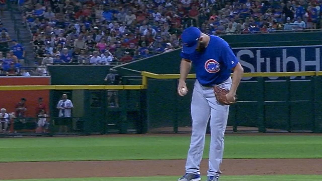Cubs se imponen a D-backs detrás de Arrieta y cuadrangulares