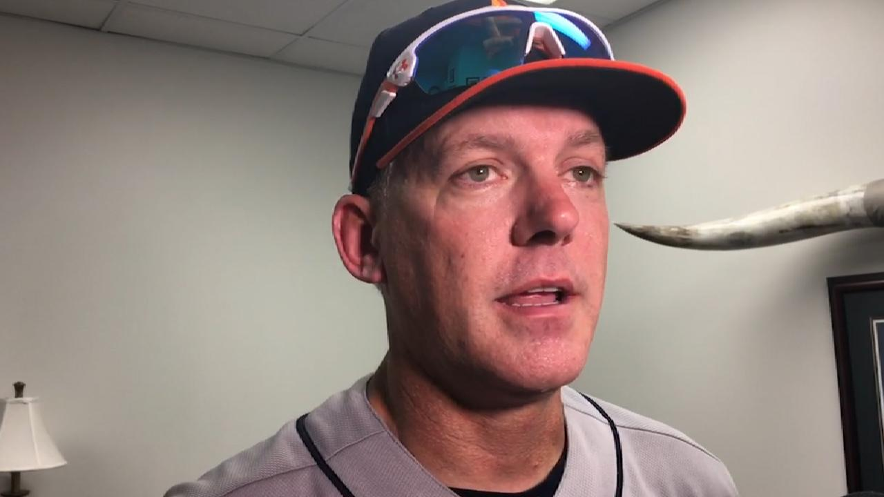 Managers Postgame: Hinch on win over Texas