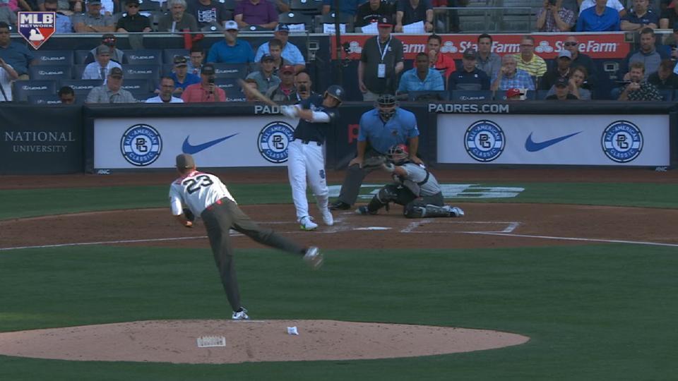 Gorman's two-run homer
