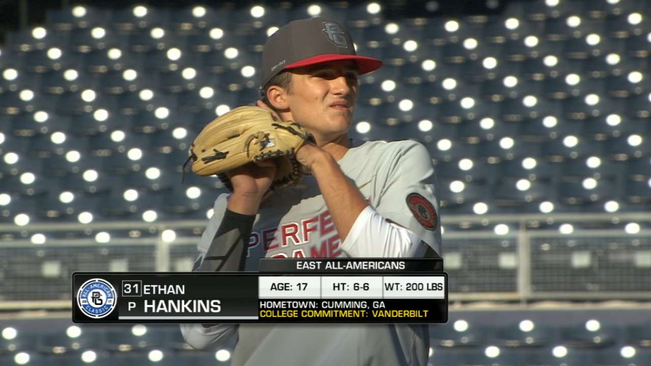 Hankins' strong inning