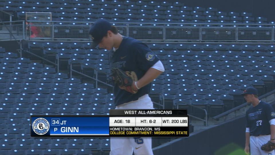 Ginn's scoreless inning
