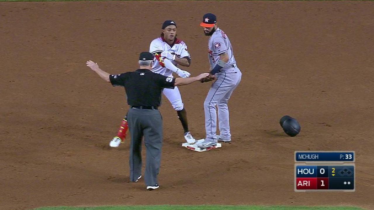 Marte, Greinke lideran blanqueada de D-backs vs. Astros