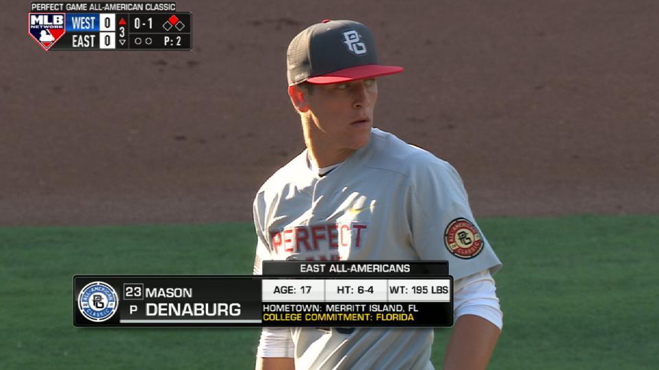 Perfect Game: Denaburg's inning