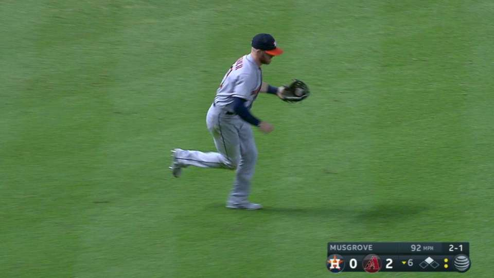 Fisher's diving catch
