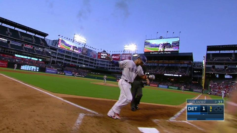 Chirinos' solo home run