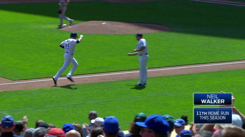 Walker's two-run homer