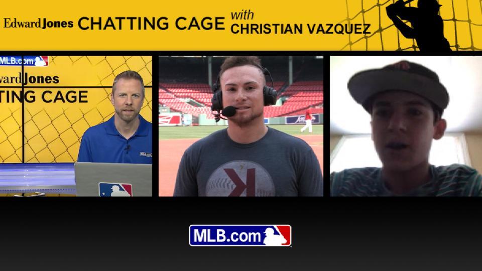 Chatting Cage: Christian Vazquez