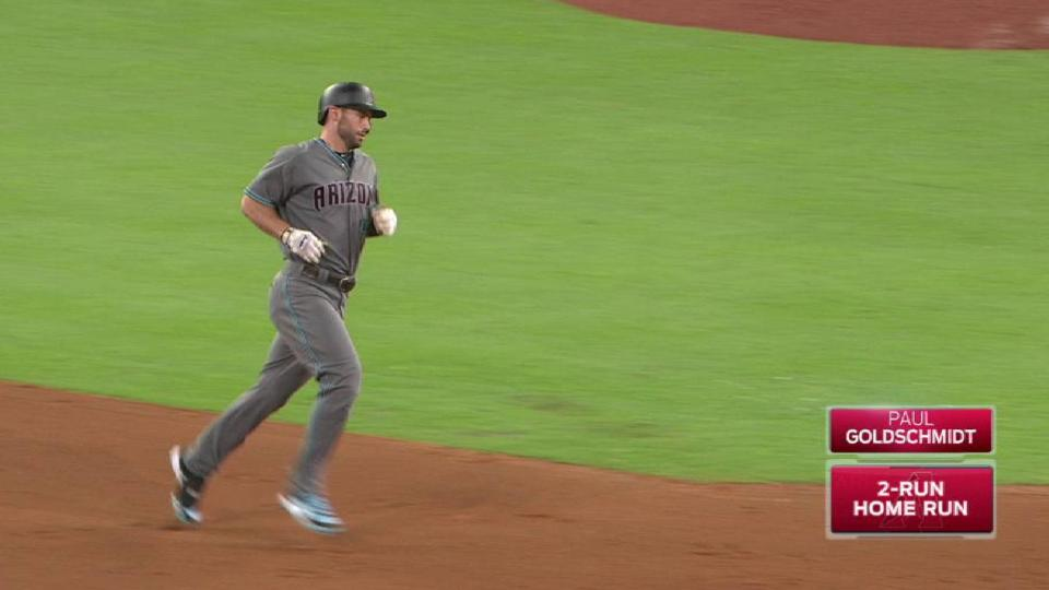 Goldy's towering two-run homer