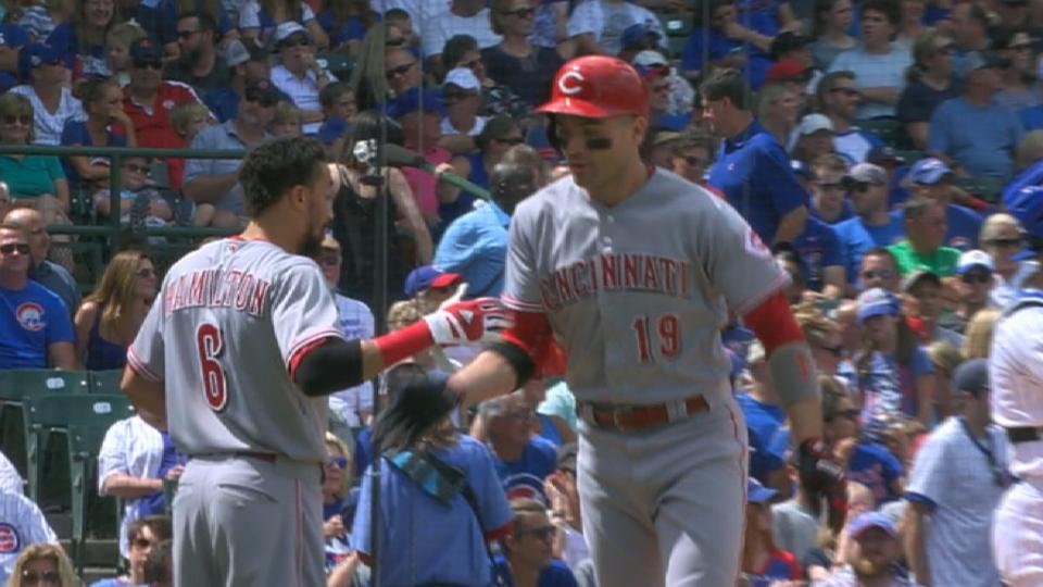 Votto's three-run jack