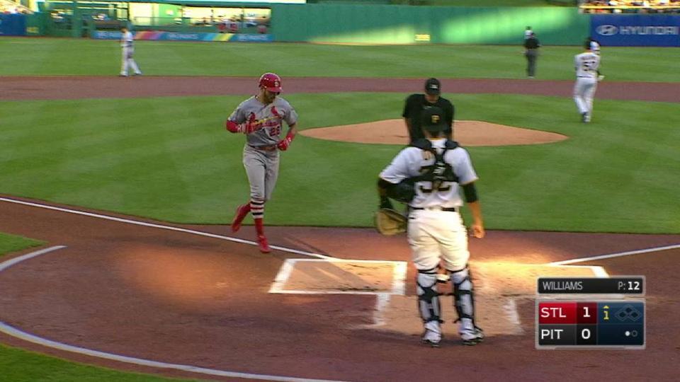 Pham's opposite-field home run