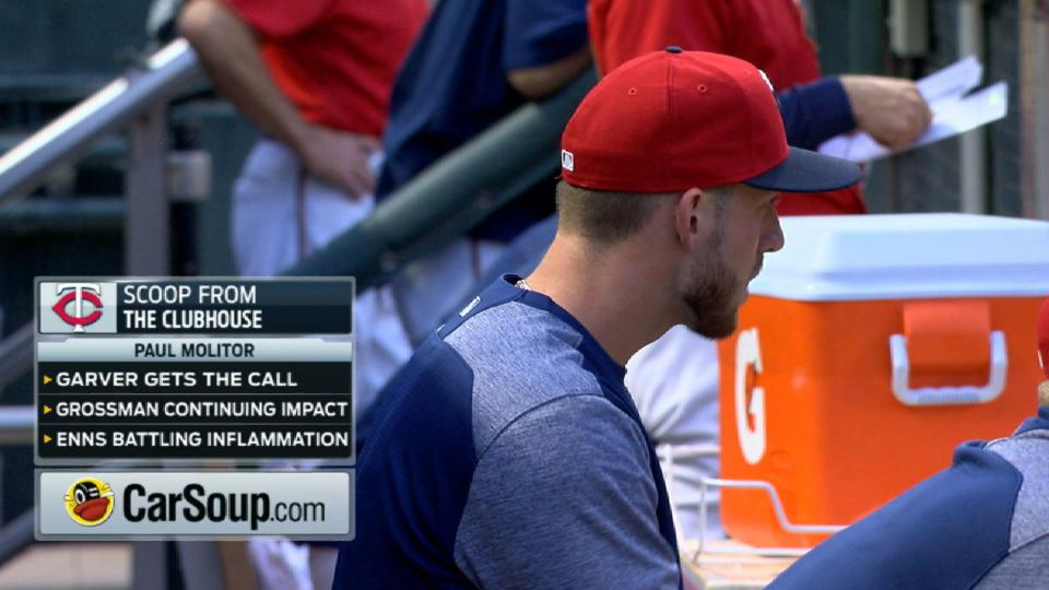 Garver gets called up to Twins