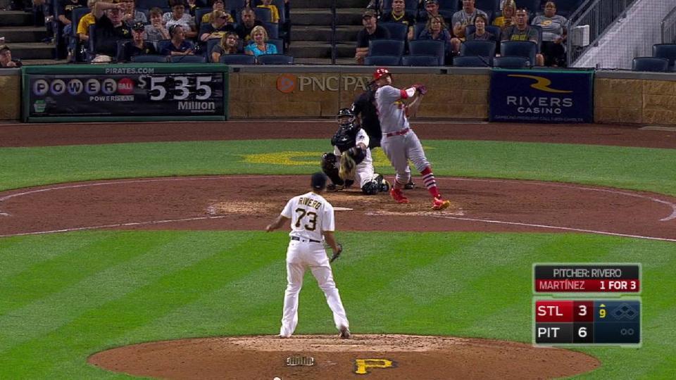 Martinez's solo homer
