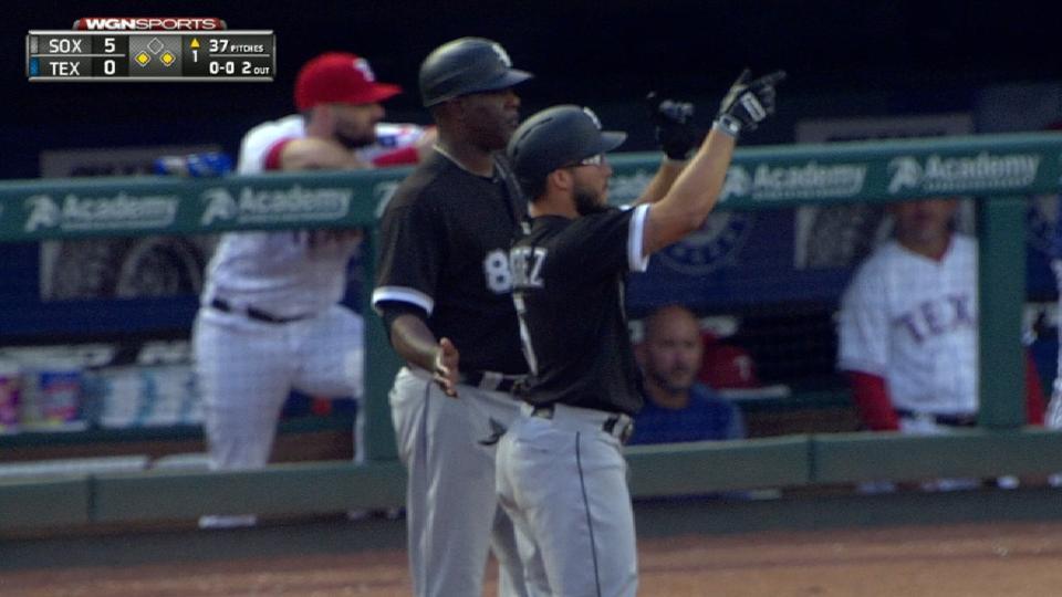 White Sox five-run 1st
