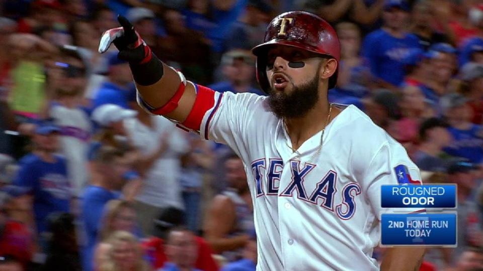 Odor's second homer of the game