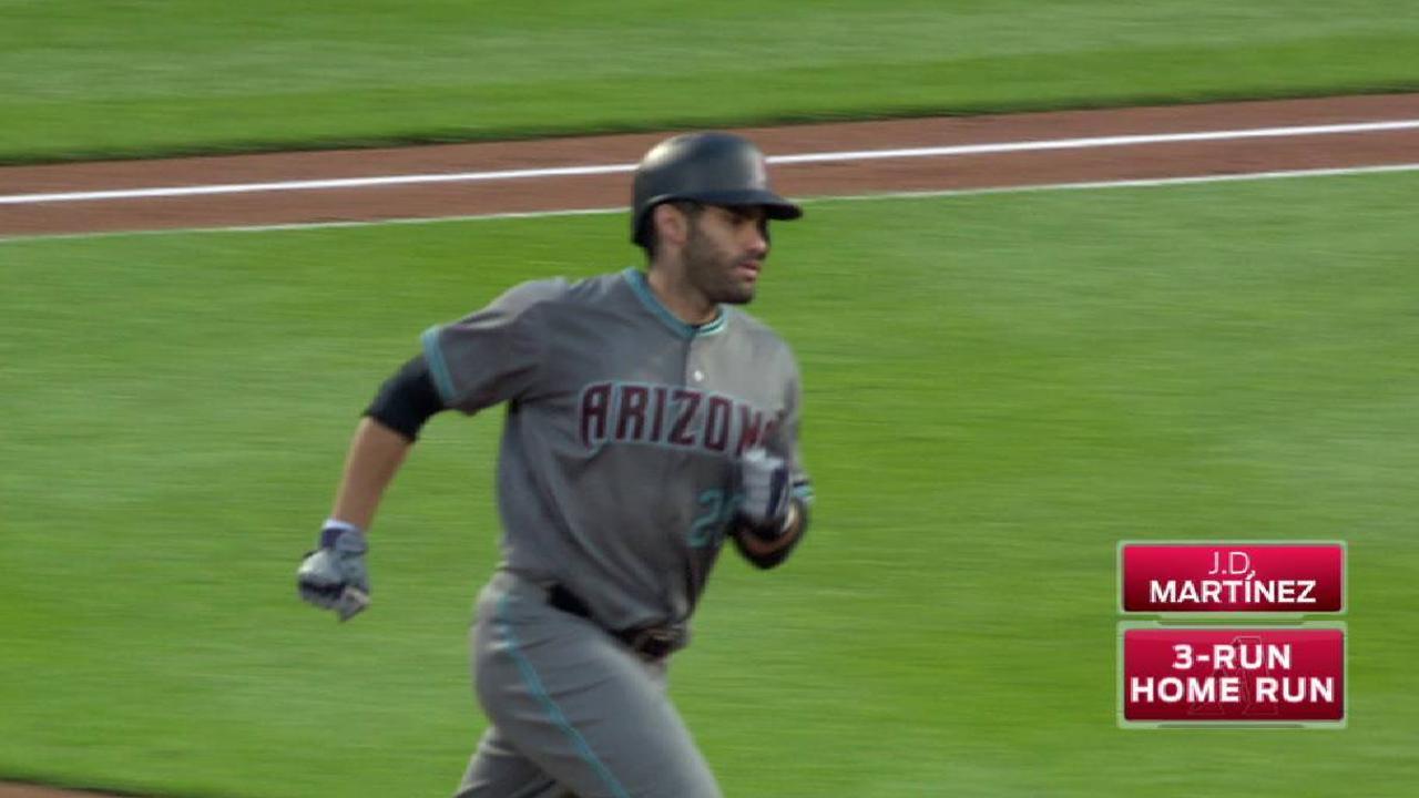 Martínez y Corbin guían a D-backs al triunfo sobre Mets