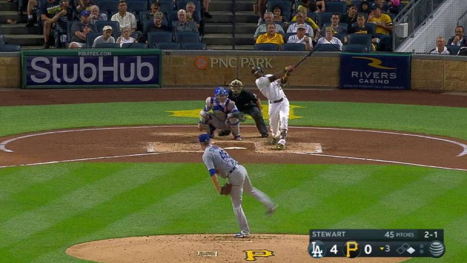 Marte's two-run homer
